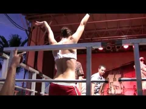 Wet T shirt Contest. Bike Week 2012. Daytona Beach Dirty Harry's Saloon. Part 2