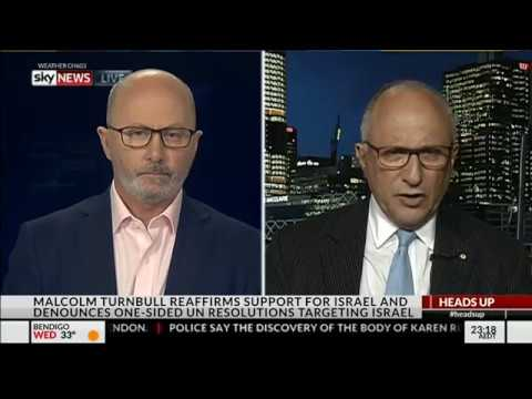 Dr Colin Rubenstein on Netanyahu visit to Australia - Sky News