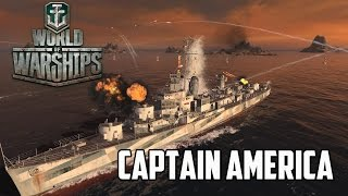 World of Warships - Captain America