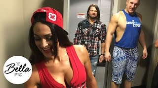 "Nikki and AJ Styles clear the air on the ""dirty look"" birthday cake photo"