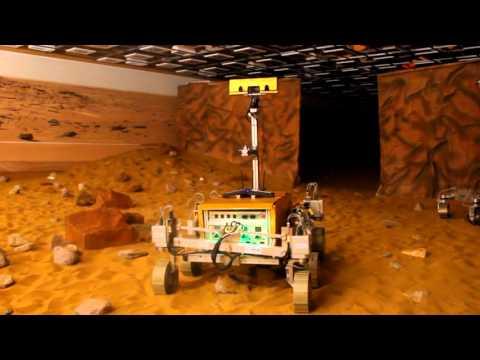 Astronaut Tim Peake Successfully Controls Stevenage-Built Mars Rover