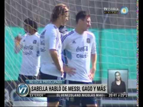 Visión 7: Sabella habló de Messi, Gago y más