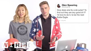 U.S. Olympic & Paralympic Athletes Answer Olympics Questions From Twitter | Tech Support | WIRED