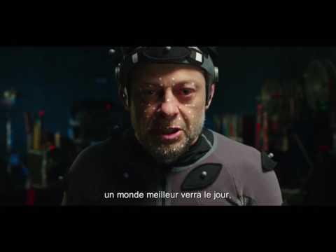 La planète des Singes - Suprématie : Andy Serkis a un message pour nous