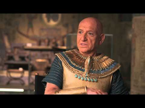 """Night At The Museum: Secret Of The Tomb: Ben Kingsley """"Merenkahre"""" On Set Interview"""