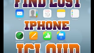 TRACK & Find Lost/Stolen iPhone Using iCloud Without Find My iPhone App