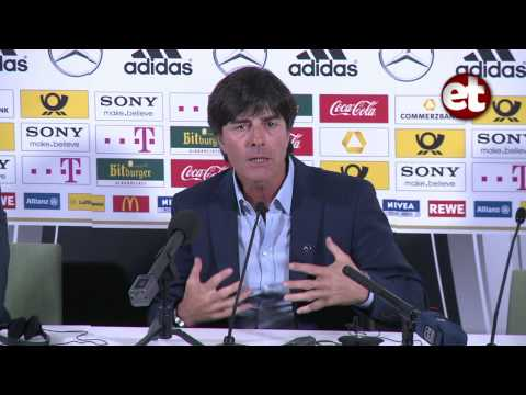 Germany Press Conference - Joachim Loew