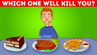 11 DANGEROUS RIDDLES YOU HAVE TO SOLVE TO STAY ALIVE!