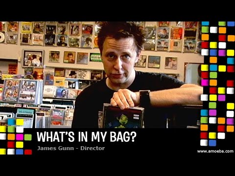 James Gunn - What's In My Bag?