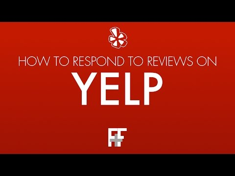 How To Respond to Reviews on Yelp