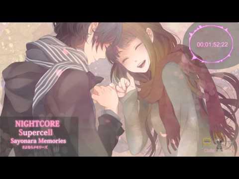Supercell - Sayonara Memories [ NIGHTCORE ]