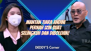 Download lagu MANTAN TIARA ANDINI PERNAH IZIN BUAT SELINGKUH DAN DIBOLEHIN! | DEDDYS CORNER (27/2/21) P1