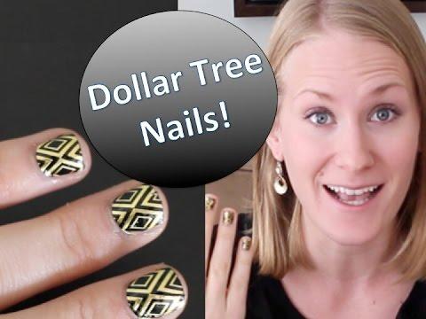 AMAZING DOLLAR TREE MANICURE!