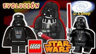 Star Wars Darth Vader Evolucion de la Minifigura Review LEGO en Español Star Wars Mexico