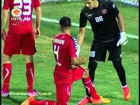 HD - Sepahan Isfahan vs Perspolis Tehran IPL Round03 2015-16 Season