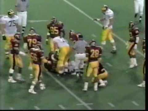 1989: Michigan-49 Minnesota-15 Video