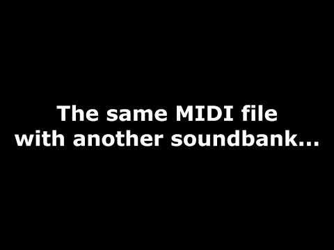 Howto convert MIDI to MP3/WAV online