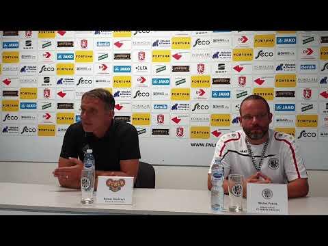 Tisková konference po utkání FC Hradec Králové - FK Dukla Praha 0:2
