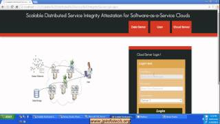Scalable Distributed Service Integrity Attestation for Software-as-a-Service Clouds