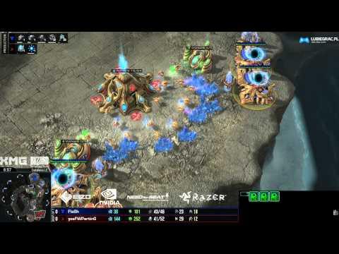 Finał - TvP Flash vs Parting -g1- Starcraft 2 HD