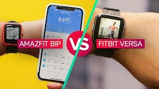 Amazfit Bip vs. Fitbit Versa: Which is more like Pebble?