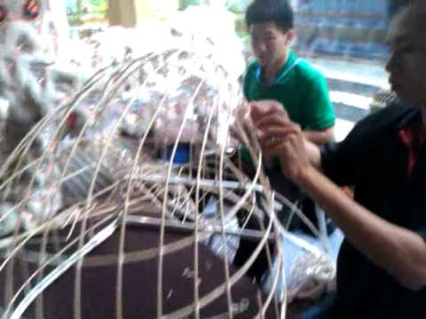 Traditional Making Of Lion Head For Chinese Lion Dance Youtube