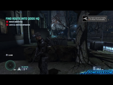 Splinter Cell Blacklist - Tri-Rotor Functionality Trophy / Achievement Guide