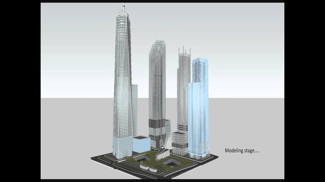 Making The 3d Model Of The New World Trade Center Youtube