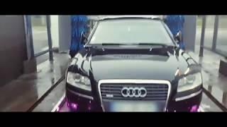 CLIP / Audi A8 D3 Exhaust sound V8 in the road LYON 69 by 🇫🇷 Le TRANSPORTEUR