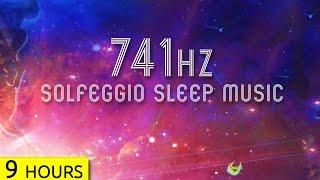 741Hz | Detox Your Body in Sleep | Solfeggio Sleep Meditation Music to Remove Toxins