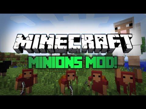 Minecraft: Mody 1.4.6 - Minions!! (Slugusy)