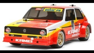 REVIEW R/C TAMIYA GOLF MK-1 KIT