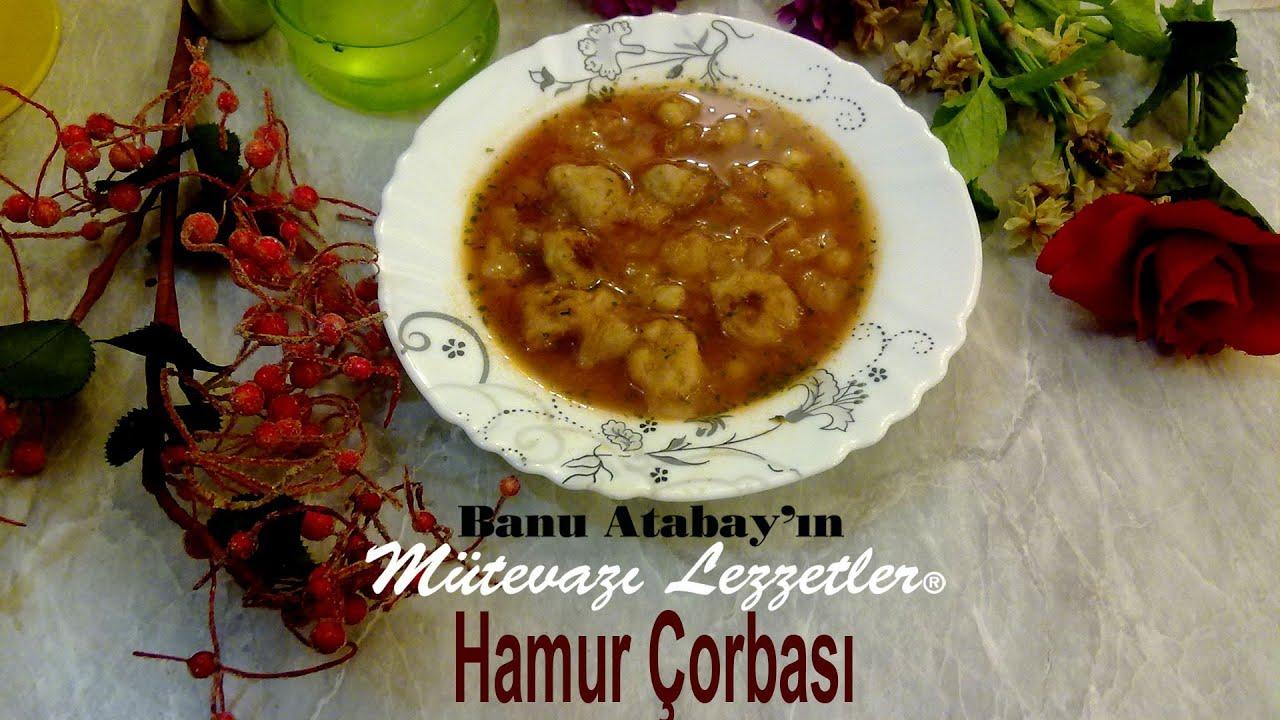 Hamur Çorbası (Çorba Tarifleri) - YouTube