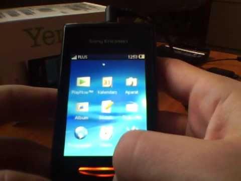 Sony Ericsson Yendo™ - Walkman, radio, ustawienia, wiadomości