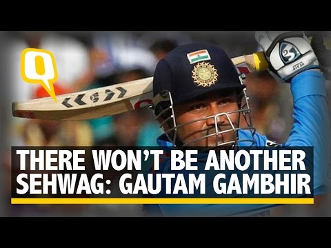 There Will Never Be Another Virender Sehwag, Says Gautam Gambhir