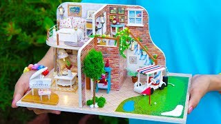DIY Doll House with Golf Course