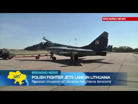Patrolling NATO Skies: Polish fighter jets deploy to Lithuania as Russia threatens Ukraine