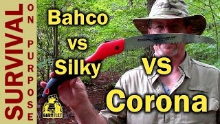 Corona 10 Inch Saw vs Bahco vs Silky - A Gauntlet Review