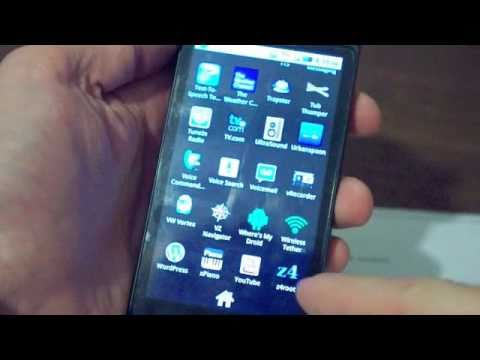 How to: Easy One Click Root Droid 2.2 Froyo with z4root FREE APP
