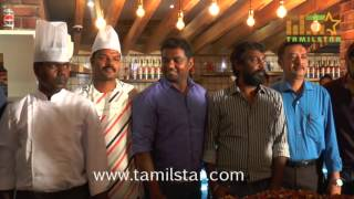 Namitha And Vijay Vasanth At Christmas Cake Mixing Ceremony