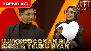 Download lagu UJI KECOCOKAN RIA RICIS & TEUKU RYAN    SILET AWARDS 2021