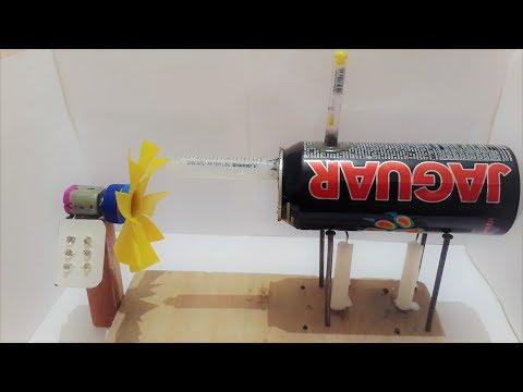 How to make a steam generator light bulbs