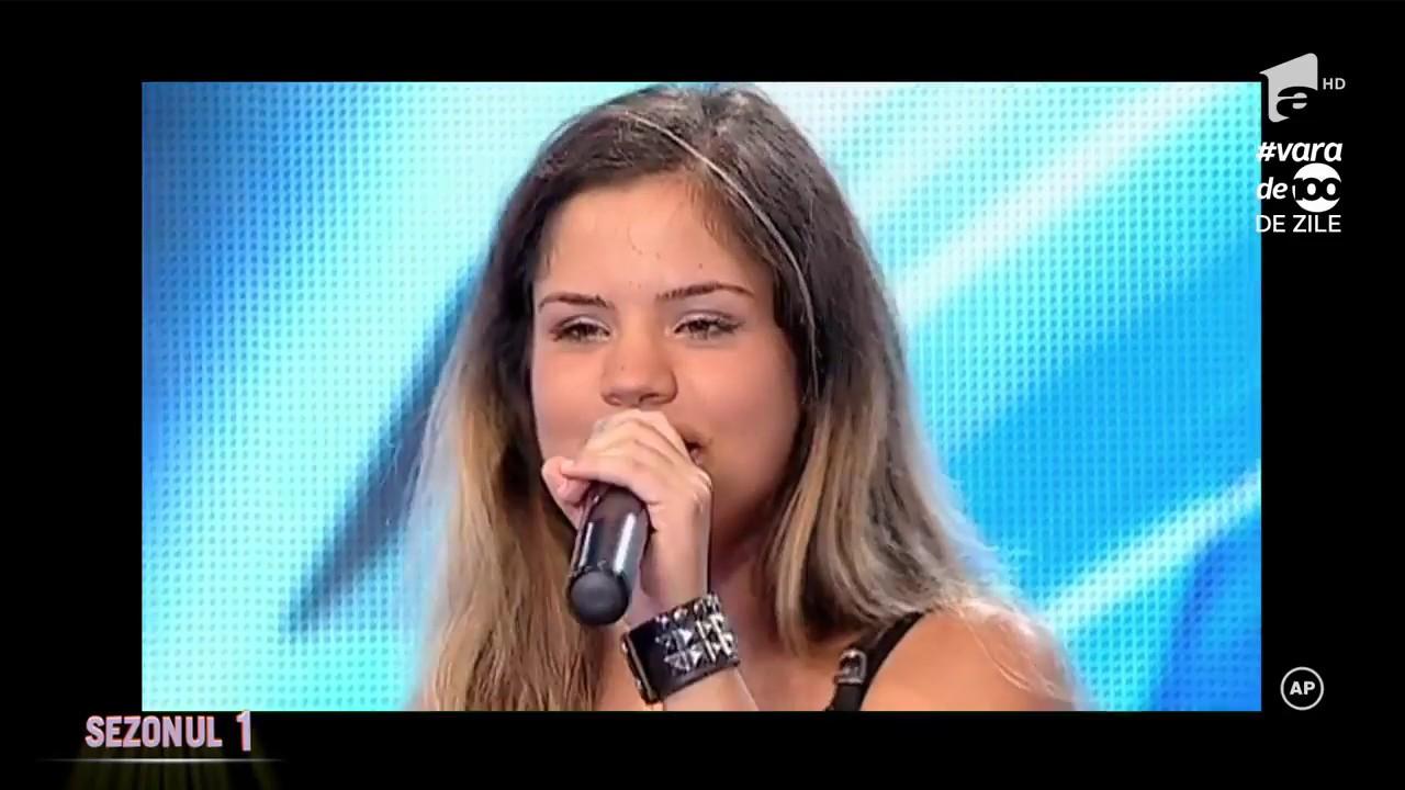 """Anouk - """"Nobody's Wife"""". Vezi interpretarea Sânzianei Niculae la X Factor"""