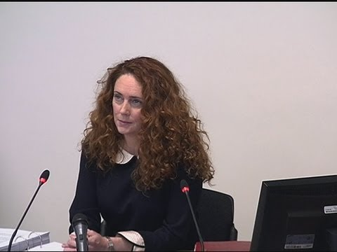 Rebekah Brooks reveals messages from politicians