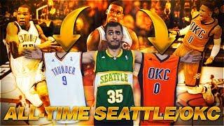 ALL-TIME OKLAHOMA CITY THUNDER / SEATTLE SUPERSONICS!   NBA 2K18 MyTEAM GAMEPLAY