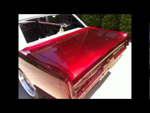 Candy Apple Red Mustang Paint Pictures Youtube
