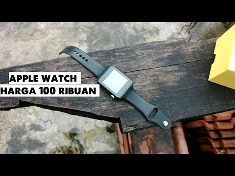 APPLE WATCH 100 RIBUAN  Unboxing & Review SMARTWATCH A1