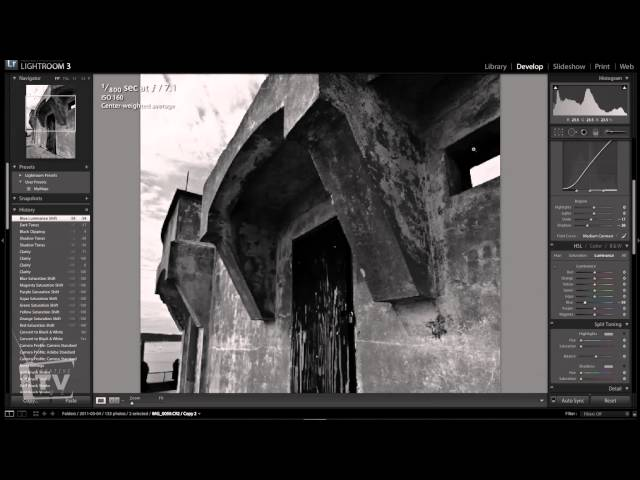How to work with Black and White Photography in Adobe Lightroom