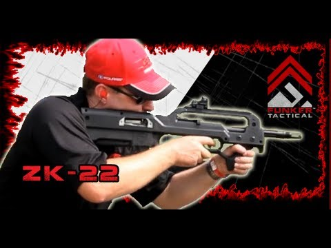 The ZK-22   Red Jacket Firearms   Joe takes it for a run!