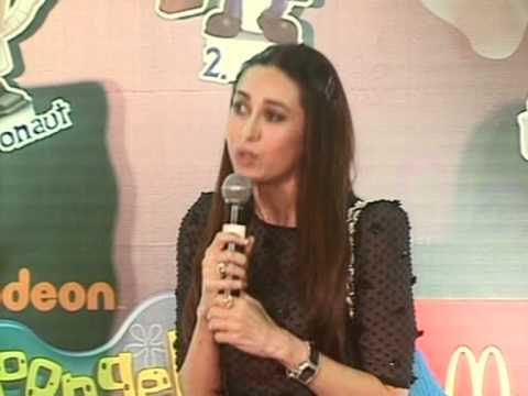 Karisma Kapoor Launches New Range Of Spongebob Squarepants - Latest Bollywood Events